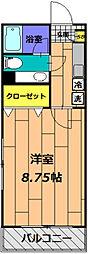 サァラ多摩平[103号室]の間取り