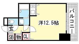 ライオンズマンション神戸元町通[403号室]の間取り