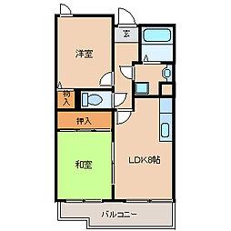 兵庫県尼崎市常光寺1丁目の賃貸マンションの間取り