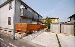 栃木県宇都宮市松原3丁目の賃貸アパートの外観