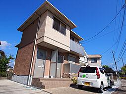 京都府木津川市梅美台2の賃貸アパートの外観