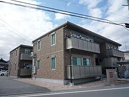兵庫県高砂市阿弥陀町南池の賃貸アパートの外観
