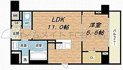 (仮称)D-Room安堂寺町[2階]の間取り