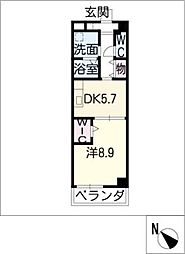 PRENDRE[4階]の間取り