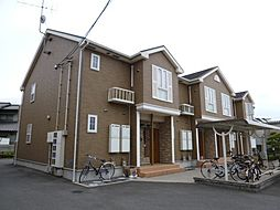岡山県倉敷市連島中央1丁目の賃貸アパートの外観