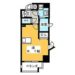 パルティール鶴舞[8階]の間取り