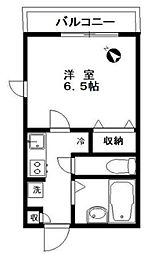 東京都新宿区北新宿4丁目の賃貸マンションの間取り