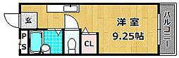 レオハイム長尾III[4階]の間取り