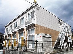 大阪府大東市明美の里町の賃貸アパートの外観