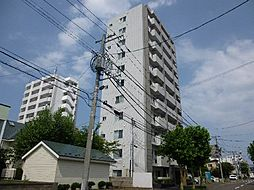 北海道札幌市北区北二十一条西6丁目の賃貸マンションの外観