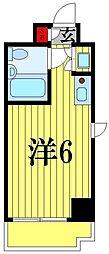 朝日松戸プラザ 407[4階]の間取り