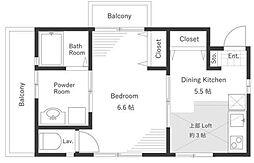 新築 ロータス四谷[3階号室]の間取り