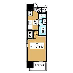 アルフィーレ新栄[-11階]の間取り