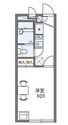 和田[1階]の間取り