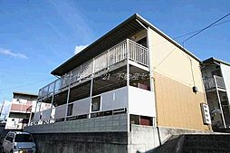 岡山県岡山市北区万成西町の賃貸アパートの外観