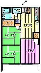 エスポワールヨシダ[1階]の間取り