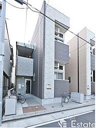 愛知県名古屋市中川区八剱町2の賃貸アパートの外観