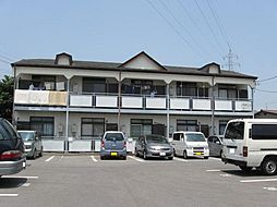 栃木県宇都宮市陽東2丁目の賃貸アパートの外観
