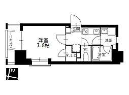 メイプルコート本山[8階]の間取り