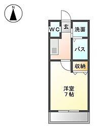 サリチェ烏森[1階]の間取り