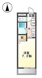 サン香呑[2階]の間取り