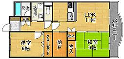メゾン橋喜[3階]の間取り