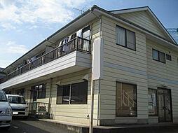 埼玉県上尾市浅間台1丁目の賃貸アパートの外観