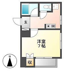 パレ千郷[1階]の間取り