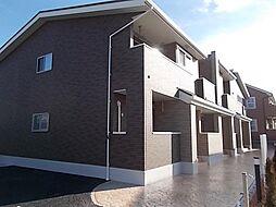 静岡県富士市水戸島2丁目の賃貸アパートの外観