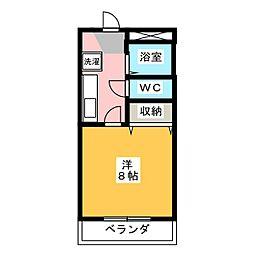 サンライトハイム7[3階]の間取り