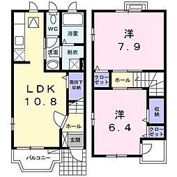 [タウンハウス] 長野県長野市大字北尾張部 の賃貸【/】の間取り
