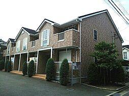 大阪府四條畷市西中野1丁目の賃貸アパートの外観