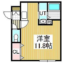 JULO(フリオ)[2階]の間取り