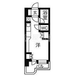 サンシャインシティ21[8階]の間取り
