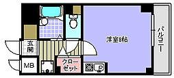 プランドールマサキ[810号室]の間取り