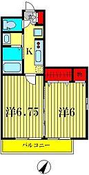 ラ カンパネラ[1階]の間取り