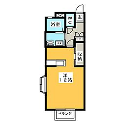 VISAGE桜[2階]の間取り