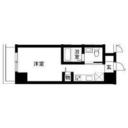 メゾン川崎西口通[103号室]の間取り
