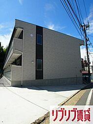 千葉県千葉市中央区亥鼻1丁目の賃貸アパートの外観