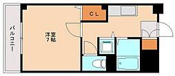 コスモコート[7階]の間取り