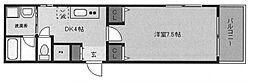 パレ・クレール[7階]の間取り