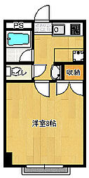 東千葉ハイリビング六番館[411号室]の間取り