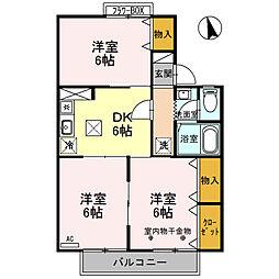 サンシャイン大塚(青木島町大塚)B棟[101号室号室]の間取り