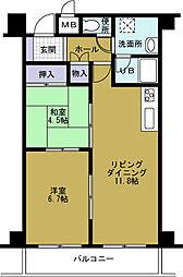 第20柴田ビル[5階]の間取り