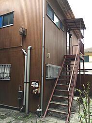 奥山アパート大津A[2F号室]の外観
