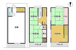 南海線 住ノ江駅 徒歩9分 4Kの間取り