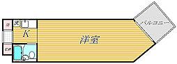 コンドミニアムメイ大倉山[3階]の間取り