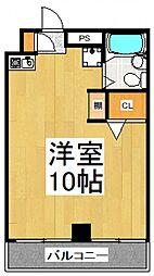 アンシャンテ志木[4階]の間取り