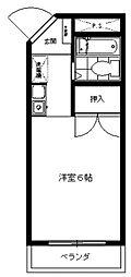 三田1092[202号室号室]の間取り