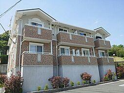 静岡県裾野市金沢の賃貸アパートの外観